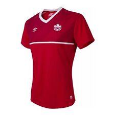 BNWT Team CANADA Women 2015-16 home shirt Umbro jersey maillot trikot World Cup