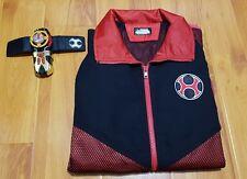 Bandai Premium Ninpuu Sentai Hurricaneger Red Jacket Asian Size L Power Rangers