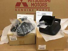 Mitsubishi 2016 Outlander Mud Splash Front & Rear Gurads Flaps GENUINE OEM NEW!