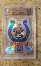 ANDREW LUCK 2012 TOPPS FINEST LUCKY CUTS DIE CUT COLTS REFRACTOR RC BGS 9.5