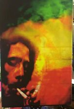 Bob Marley canvas print wall  hanging, Size76x50cm UV protected. Reggae man