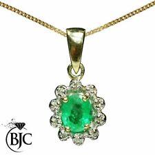 Natural Emerald Fine Necklaces & Pendants