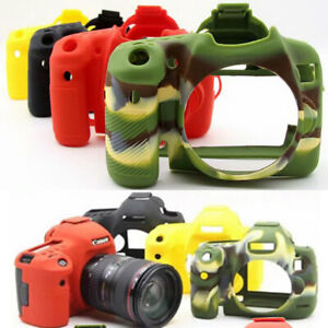 Soft Silicone Rubber Camera Case Skin For Canon 5D Mark III 5D4 6D 6D2 70D 77D