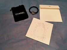 New Chanel Beaute 4 Piece Gift Set Hair Tire With Velour Bag And Card Authentic
