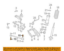 Lexus TOYOTA OEM 01-05 IS300 Rear Suspension-Lower Arm Bolt 9011912154