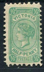 Victoria 1901-10 (SG.384c) Wmk V/Crown sideways Perf.12½, ½d Blue-Green Die III