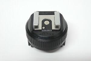 Nikon AS-4 Blitzadapter gebraucht AS4 für F3   Blitzschuhadapter