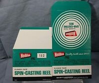 Vintage New NOS BOX ONLY (unfolded) Heddon Pal #152 Spin-casting Fishing Reel