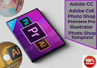 Photoshop CC Illustrator and Premiere Pro Training Guide,PhotoshopTemplets