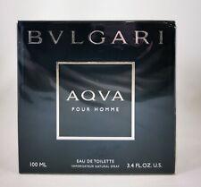 Bvlgari Aqva Pour Homme 100ml Eau de Toilette Spray ** Damaged Box **