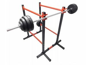 Adjustable Multifunctional Exercise Squat Rack Dip Stand Barbell Lifting Fitness