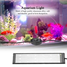 Adjustable 15/21 LED Aquarium Light Arm Clip Lamp Plant Grow Fish Tank Lighting