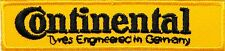 Continental Tryes Tires Patch Iron on Jacket Suit T-shirt Cap Sign Logo Badge