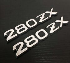 Datsun Fairlady-Z 280ZX Front Fender Side Logo OEM Emblem Badges Decal Sticker