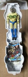 Takara MICROMAN PHAROID in CHAMBER Complete Japan 1970's ORIGINAL MINT