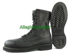 "US Military USAF Addison 9"" JUMP BOOTS FULL LEATHER Black USA MADE NIB 16.5 N"