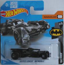 Hot Wheels - Justice League Batmobile mattschwarz / Batman Neu/OVP