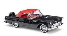 1/87 Busch Ford Thunderbird cabrio cerrado negro 45238