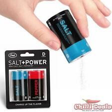 New FRED Salt n Pepper Shaker Battery Dispenser Kitchen Accessories Novelty Gift