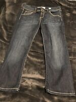 Women's BKE Capri Jeans Size 28 Denim From The Buckle Dark Wash