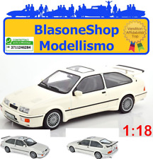Ford England Sierra Rs Cosworth 1986 White NOREV 1:18 Modellino DieCast