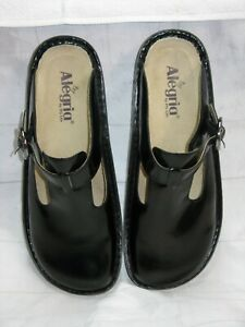 ALEGRIA by PG LITE Black Leather Shoes  Sz 10 M - Never Worn