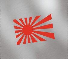 Japan Rising Sun Flag Fuel Tank Decal sticker JDM honda dapper illest civic crx