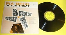Pia Beck - Dutch Treat 1952 Piano & Vocals Very Good LP Great Cover! Nice See!