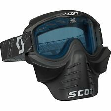 Scott 83X Vollcross Brille ohne Roll Off´s incl. Vollmaske - Safari