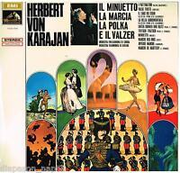Herbert Von Karajan: El Minuet,La Marcha, La Polka E Legal Vals - LP Vinilo 33
