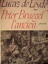 Lucas De Leyde, Peter Bruegel L'Ancien Gravures Oeuvre Complet