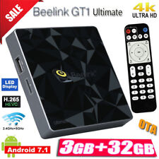 Beelink GT1 Ultimate Android 7.1 3+32GB Dual WIFI BT Smart TV Box 4K Ocho nucleo