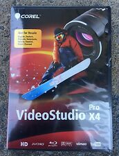 Corel VideoStudio Pro X4 For Windows 7- Brand New-Free Shipping!