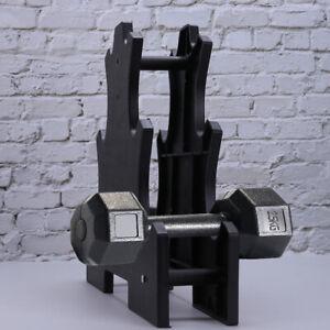 Dumbbell Storage Rack Stand 3 Tier Home Gym Hand Weight Shelf Holder Organizer ❤