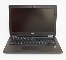 """Dell Latitude E7250 12.5"""" Laptop 2.3 GHz i5-5300U 16GB 256GB Win10 Pro New Batt"""