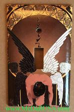 Art Nouveau Artists Light Switch & Duplex Outlet Cover Plate 002