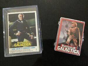 Battlestar Galactica 2 Full Sets Of Trading Cards - 1978