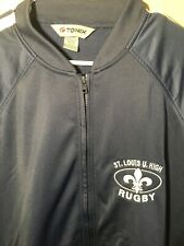 St Louis University High School Rugby Team Jacket By Tonix Large L