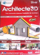 """PC """"Architecte 3D SILVER 2013"""" (Maison/Appartement/Terrasse) NEUF SOUS BLISTER"""