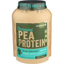 """Nutrasumma-Pea Protein """"Fermented"""" Unflavored 34.57 oz( 2.16 lbs)"""