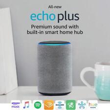 Amazon Echo Plus (2nd Gen) Smart Speaker - Heather Gray