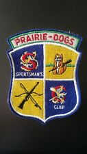 Usaf Prairie-Dogs Sportsman'S Club Patch United States Air Force Vietnam