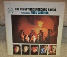 The VELVET UNDERGROUND & NICO LP V6-5008 RARE CANADIAN 1967 press Andy Warhol