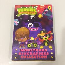 Moshi Monster monstrous biographies collection - 4 SET  BOOKS