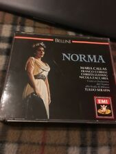 Callas - Bellini: Norma (1961) 3 Cd (P 1989) EMI Records VG (box has Some Cracks