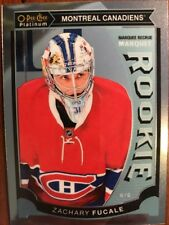 2015-16 UD Opee Chee Platinum Marquee Rookie #M37 Zachary Fucale Pack Fresh