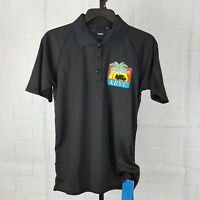 Reebok Unisex Florida ARVC Black Polo Shirt Size XL