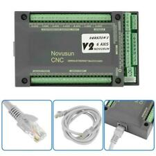 NVEM CNC Controller 6 Achsen MACH3 Ethernet Motion Control Card Board■