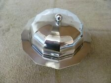 ANTIQUE, LIDDED, DODECANOL SHAPE, SILVER PLATED MUFFIN SERVER. 'DANIEL & ARTER'
