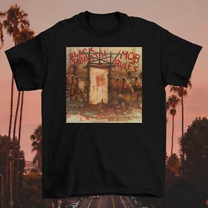 Black Sabbath - Mob Rules Deluxe Edition Rare Black Unisex S-2345XL T-Shirt